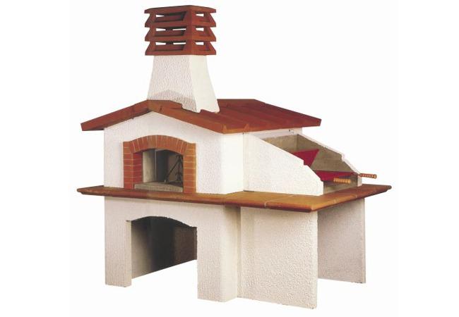 Forni a legna da esterno casette da giardino - Forni per pizza casalinghi ...