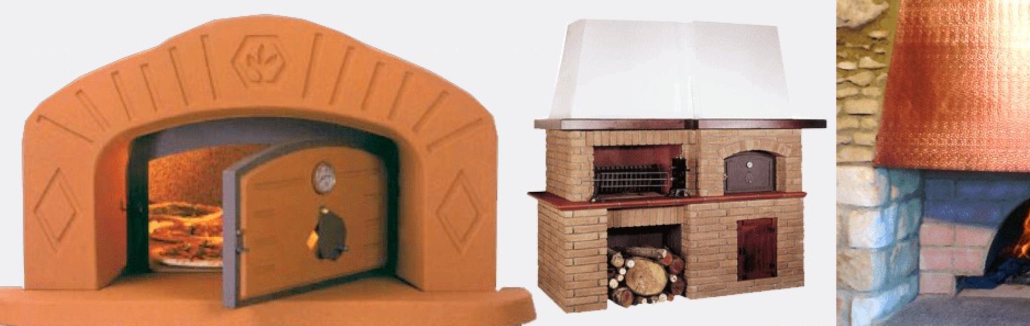 Forni a legna prefabbricati per pizza e pane forni professionali forni per la casa - Forno pizza casa legna ...
